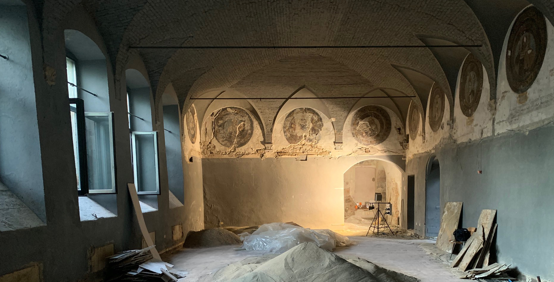 Cantiere: le tappe